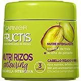 Garnier Fructis Nutri Rizos Contouring Mascarilla Intensiva Fortificante que Nutre y Define, con Pectina de Fruta y Aceite de