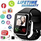 Smartwatch, Bluetooth Smart Watch Wasserdicht Smartwatch Android Smart Handy Uhr Sports Smart Armband Uhr Fuer Android IOS