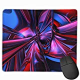 Gaming Mauspad Abstraction 3d Rubber Mousepad (30 x 25 cm)   Fransenfreie Ränder   Rutschfest