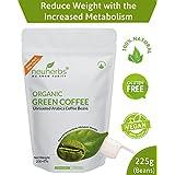 Neuherbs Organic Green Coffee Beans for Weight Management 200g+25g Free