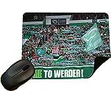 Werder Bremen Fans - Crowd Mouse Mat/Pad - By Eclipse Gift Ideas