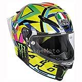 AGV Gp-R Pista Soleluna Rossi 46 2016 Motorradhelm