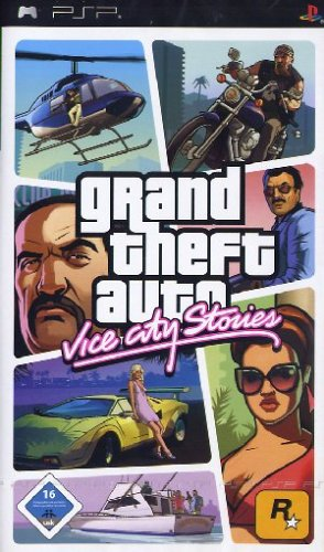 Grand Theft Auto: Vice City Stories - Auto Grand Vice Theft Psp City