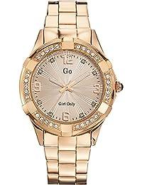 Go Girl Only Damen-Armbanduhr Analog Quarz Edelstahl 694888