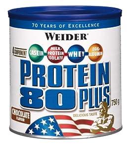 Weider 80 Plus Protein, Schoko (1 x 750 g)