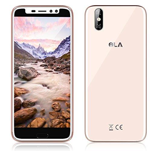 ILA ILA - 4G Smartphone Lbre 5,5'LCD IPS (Android 7.0, 3G ROM + 32G RAM, 4 Núcleos, 1.3GHz, Cámara 13MP Trasera + 5MP Frontal, Batería 2500mAh, Lector de Huellas) (Oro)