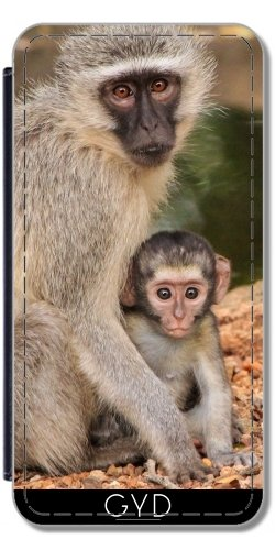 Custodia in silicone per Iphone 7 / Iphone 8 - Mammifero Animale Bambino by Grab My Art Simili-Cuir