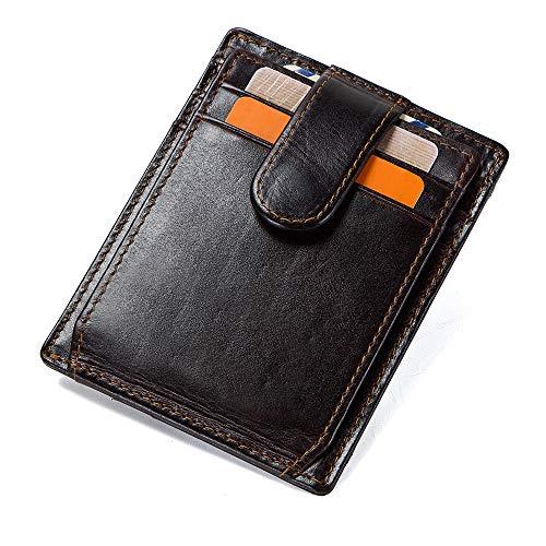 Kartenetui Kreditkartenetui 100 Leder Mit Rfid Nfc Schutz Geschenkidee Ostern Visitenkartenetui Leder Portmonee Portemonnaie Wallet Für