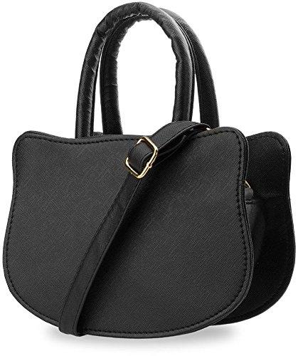 kleine Handtasche für Jugendliche Mädchen Damentasche Katzen