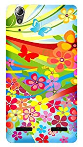 TrilMil Printed Designer Mobile Case Back Cover For LENOVO A6000 PLUS / A6000 / A6000+