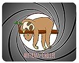 Mousepad Auftrags-Chiller Faultier