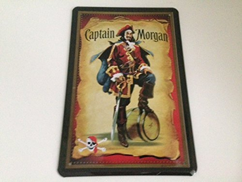 captain-morgan-design-20-x-30-cm-with-pirate-theme-by-blechschild