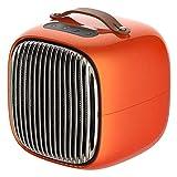 Mini Smart Elektro-Heizung zu Hause Schlafsaal kleine Heizung Büro tragbare Desktop-Heizung,Orange
