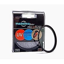 Maxsimafoto UV-Filter / Objektivschutz PRO 62mm, für Fujifilm F XF 23mm f/1.4R & Fuji 90mm f2 R LM WR XF Objektiv