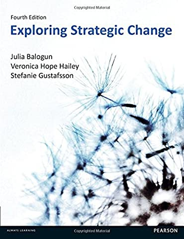 Exploring Strategic Change 4th
