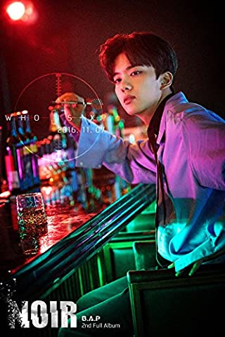 B.A.P-[NOIR] 2nd Album Limited Edition YOO YOUNG JAE Ver CD+Photobook+PhotoCard+Poster