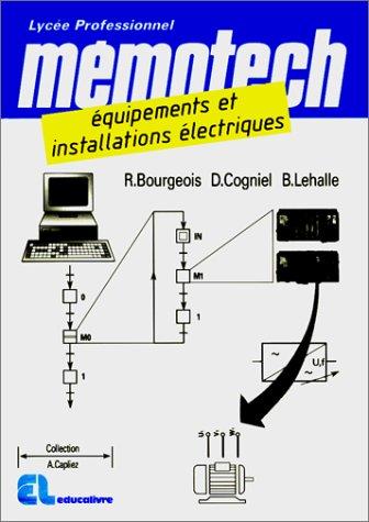 Mémotech : équipement et installation électriques