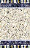 Bassetti OPLONTIS Granfoulard Baumwolle Blau 270 x 270 x 1 cm in
