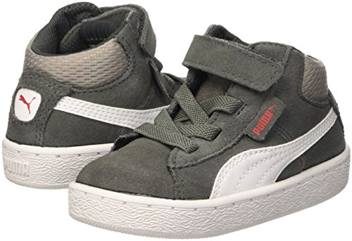 Puma 1948?Mid V Inf, Sneaker Bambino, Grigio (Dark Shadow/Bianco), 20 EU (4 UK)