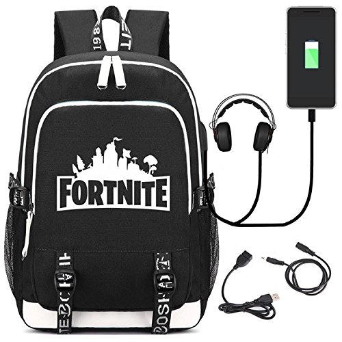 Fortnite Multi-functional Rucksack with USB Charging Port