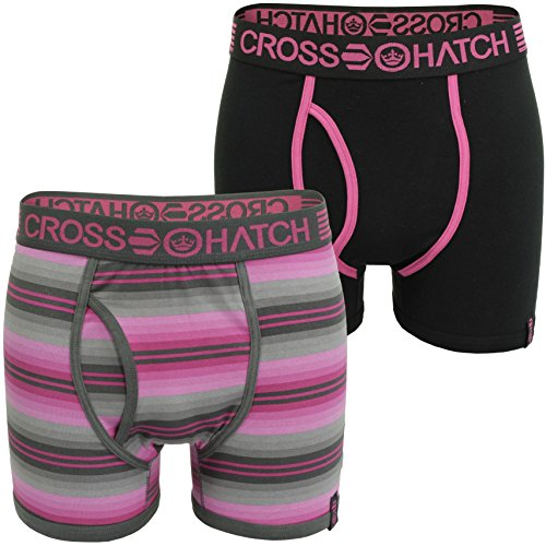 Crosshatch -  Boxer  - Uomo Photonic - Magenta/ Dark Shadow