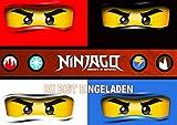 Lego Ninjago Einladungskarten 12er Set inkl. 12 Umschläge N29