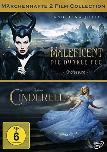 Maleficent - Die dunkle Fee / Cinderella (2 Disc Collection) [2 DVDs] (Clever Kostüme Erwachsenen)