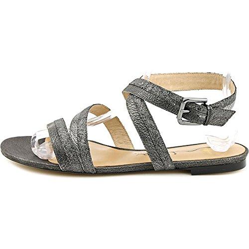 Nina Solana Femmes Cuir Sandale Pewter