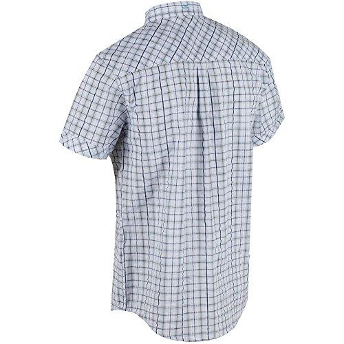 Regatta Herren Deakin II Shirts White/Blue