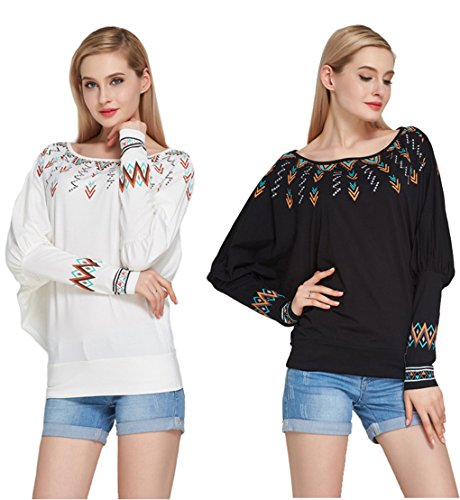 womens-plus-long-bat-sleeve-pullover-top-blouses-sexy-loose-shirt-tops-tee