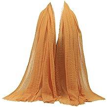 c9660c64d95 Rovinci Mode Femmes Couleur Unie Fil d or Plier de Plein Air Longue Doux  Emballage