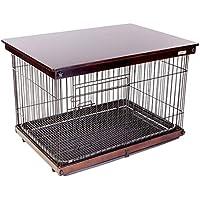 Casetas y cajas para perros Mascota jaula para perros jaula para perros de madera maciza perros