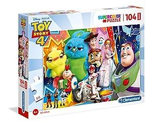 Clementoni Supercolor Puzzle-Toy Story 4-104 Maxi Piezas, 23741