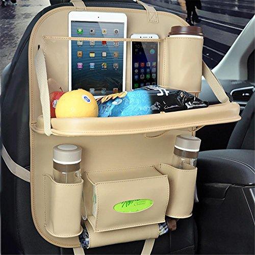 HomJo Solar LED Garden Spotlight Praktische Autositz Aufbewahrungsbeutel hängende Taschen Auto Klapptisch Bench Auto Stuhl zurück Tasche Lieferungen , 4