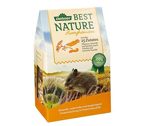 Dehner Best Nature Nagerfutter, Zwerghamsterfutter, 500 g, 3er Pack (3 x 500 g)