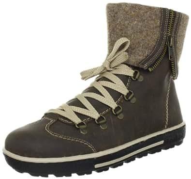 Rieker Z8764-25, Damen Boots, Braun (tabak/wood 25), EU 38