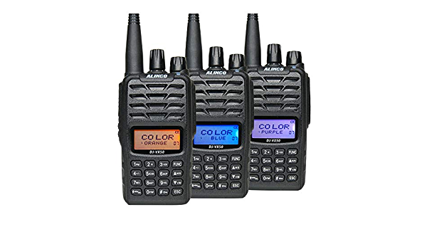Alinco 1228 Dj Vx 50e Vhf Uhf Amateur Handheld Radio Elektronik