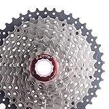 Nicololfle MTB Mountainbike 10S 11-42T Zahnradkassette Freilauf Stahl Fahrrad Schwungrad Kettenrad