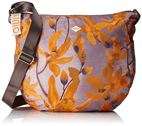Oilily - Groovy Shoulderbag Lhz, Borse a tracolla Donna Arancione (Orange)