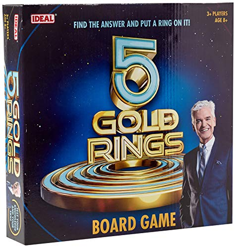 Five Gold Rings Board Game from Ideal
