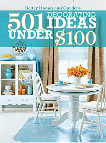501 Decorating Ideas Under $100 (Better Homes & Gardens Decorating)