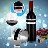 Hasti Hoard Stainless Steel Wine Bracelet Thermometer 4-26 Centigrade Degree Red Wine Temperature Sensor