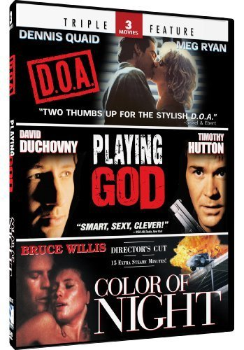 Color of Night & Playing God + D.O.A. - Triple Feature by Bruce Willis