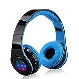 Excelvan Wireless Headphones Bluetooth for Kids Men Women, Noise Isolating Foldable Lightweight Headphone