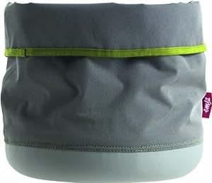 Emsa 512746 Softbag Cache-Pot/Porte-Ustensiles ou Corbeille 30 cm Gris