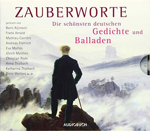 hönsten deutschen Gedichte und Balladen (6 CDs mit Booklet) ()