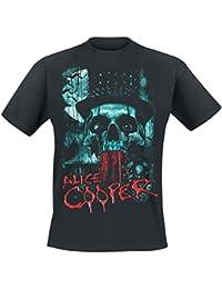 Alice Cooper Skull Eyes T-Shirt schwarz