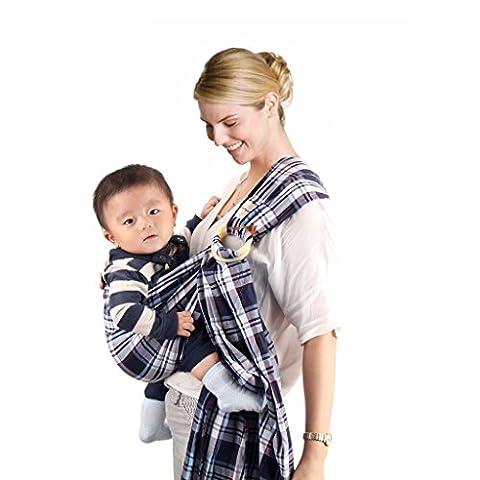 Vine Porte-bébé Anneau écharpe porte-bébé Wrap Séchage Rapide, Confortable, Légère,
