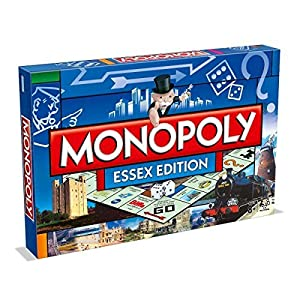 Winning Moves Juego de monopolio Essex.