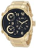 JBW G4 Reloj DE Hombre Diamante Cuarzo Suizo 53MM DIAL Negro J6248E